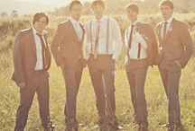 GROOMSMEN / How to get the Groom and his men looking stylish on that special day.  / by Tramps The Store