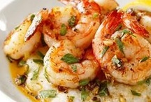 Shrimp  Scallops and Seafood / by Jewel Only