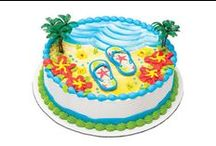 Beach Party  / Whether you have an Olympic sized pool or a kiddy pool, DQ has found everything you need to make your next backyard beach party a dip to remember! / by DQ® Cakes