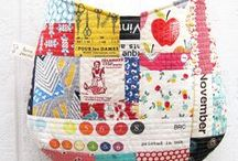 Tote Bag Swap / Here are some great tote bag patterns, tutorials, and just plain eye candy! / by Portland Modern Quilt Guild