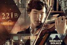Geek Talk / Sherlock, Doctor Who, Merlin, and Harry Potter / by Hailey Morgan