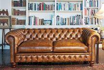 Chesterfield Sofa / by Rhonda Stephens