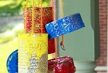 easy crafts for kids / by Linda Greenway