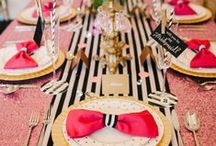 Party Rockin' / tablescapes for weddings, galas, parties & other events / by Gilda Y.