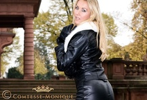 hot and sexy leather / leather fashion / by Comtesse Monique