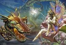 Dragons. Fantasy. / by OISEAU