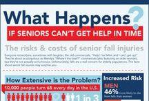 Senior Health - Medical Infographics / Useful stats about senior living, senior health and  Medicare. For more stats and senior living articles, check out our blog: http://www.bayalarmmedical.com/medical-alert-blog/ / by Bay Alarm Medical