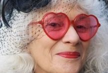 """Advanced Style / """"Playing dress-up begins at age 5 and never truly ends."""" - Kate Spade. Fashion and beauty for the over 50! #style #fashion #advancedstyle #over50 / by Bay Alarm Medical"""