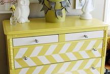 refinishing / reimagined / Furniture refinishing project ideas and inspiration / by Mary Courtemanche