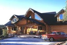 Log Homes  / Take a glance at these gorgeous log homes crafted by Pioneer Log Homes of B.C. / by Timber Kings