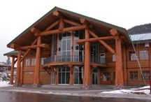 Commercial Projects / Take a peek at these large scale commercial projects built by Pioneer Log Homes of B.C. / by Timber Kings