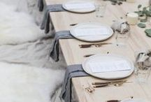 Table Top Inspiration / by jacquelyn | lark & linen