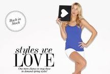 TREND GUIDE: STYLES WE LOVE / by BEYOND YOGA