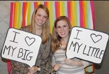 Big and Little / by UA Gamma Phi Beta