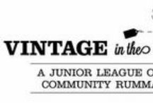 Vintage in the Valley / Stop by our annual fall fundraiser for gently-used furniture, clothing, kids' items, books and more. All proceeds benefit Junior League of Dayton community programs. #VintageInTheValley #ViV / by Junior League of Dayton