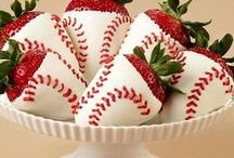 Party Theme- Sports Baseball / Celebrate the Baseball season, birthdays, games, sports, with these fun decorating, food, and craft ideas.  / by EventWeaver