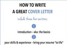 Cover Letter Tips & Templates / by LMU Career Development Services