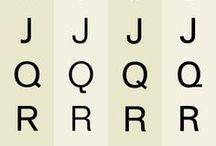 Typographie / τυπογραφία / by Liza King Flanders