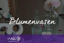 ♡ VASEN HOCHZEITSDEKO / Ein Auswahl unserer Vintage-Vasen und Gläser für deine Hochzeitsdekoration und Tischdekoration im Vintage-Stil. Absolut chic und im Trend! / by ♡ weddstyle.de ♡ Hochzeitsdekoration