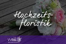 ♡ HOCHZEITSFLORISTIK / Kreative Hochzeitsfloristik von Weddstyle aus Mainz. Wir gestalten Deinen Brautstrauß, Anstecker und Blumendekoration und Gestecke für Hochzeit, Standesamt und Kirche. Hier findest Du einige Beispiele unserer Hochzeitsfloristik. / by ♡ weddstyle.de ♡ Hochzeitsdekoration