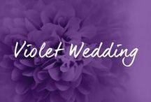 """♡ LILA / VIOLETT HOCHZEITSDEKO / Alles zum Thema """"Lila"""" Hochzeitsdekoration bzw. Violett (eng. violet). / by ♡ weddstyle.de ♡ Hochzeitsdekoration"""