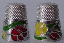 Thimbles / Pincushions / Sewing Stuff / by Gladys Hagerty