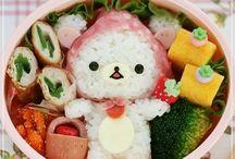 JAPAN : Japanese Bento   Food art ♥ / #bento #bentobox #onigiri #onigiribento #kyaraben #kodomobento #sweets #foodart #obentoart #obentou #lunchbox #onigiri / by Johana Ufa