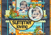 Scrap Layouts / Scrapbooking... cheaper than therapy... / by Kathryn Janeway