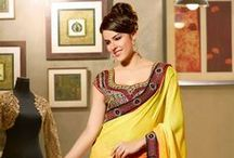 Designer Sarees / Are you looking for designer sarees that would appeal your fashion sense and make you stand apart from the crowd? We have got all the latest collection of designer sarees at very competitive rates : http://www.easysarees.com/Indian/Sarees/Designer-Sarees / by EasySarees