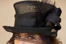 Millinery / The hat has been an essential fashion accessory for centuries. Before the 1960s, men and women never left home without a hat. From warmth-giving necessities to the ultimate fashion statement, hats for both men and women have taken many shapes and sizes. / by Coveted Temptations