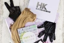 Hair Extensions Stocked at Dirty Looks / Check out our range of high quality hair extensions here http://dirtylooks.com/clip-in-hair-extensions / by Dirty Looks