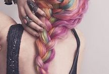 Rainbow Hair / by Dirty Looks