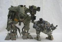 Mechanics / Aircrafts / Space Ships / Vehicules / Robots / by Eliott Beaudon
