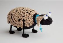 ~ CROCHET creatures 1 ~ / Crochet toadstools went to their own new board :o)). / by Amina O with ♥ @ postmodern Amina O blog
