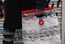 ~ CROCHET bags 1 & purses ~ / Crochet. Inspiration. The little coin bags I pinned on my ingthings board.  / by Amina O with ♥ @ postmodern Amina O blog