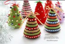 ~ CROCHET christmas ~ / by Amina O with ♥ @ postmodern Amina O blog