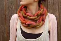 ~ CROCHET collars 1 ~ / by Amina O with ♥ @ postmodern Amina O blog