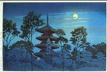 Arts: JAPAN / Hanga Gallery http://www.hanga.com/index.cfm | Shiro Kasamatsu (1898 - 1991) | Takeji Asano (1900 - 1999) |Cyrus Baldridge (1889-1975) | Charles W. Bartlett (1860-1940) | Hashiguchi Goyo (1880-1921) | Kawase Hasui (1883-1957) / by Laura Bell