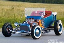 HOT RODS AND RAT RODS / OLD SCHOOL RODS / by Kerry