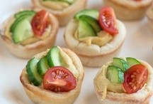 Food: Snacks / snack ideas and appetizers / by Katie Grabner