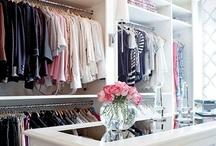 Interior Design: Closets / closet ideas / by Katie Grabner