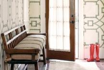 Interior Design: Mudrooms + Entryways  / Mudrooms and entryways / by Katie Grabner