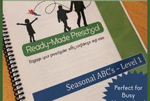 PreSchool - Ready Made Preschool Theme Ideas / Ready Made Preschool Theme Ideas:  focused on toddler/preschool activities using the themes from RMP.   / by April Edwards