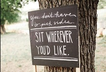 You May Be Seated / by Nancy G