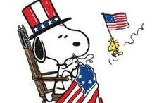 Stars and Stripes! / Celebrating Memorial Day, Flag Day, Veteran's Day, President's Day & Labor Day! / by Nancy