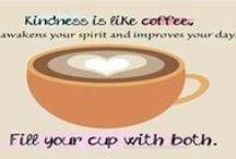 hmm, coffee / by donna hardgrove