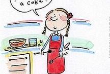 Bake, Bake, A Little Cake / by Carole Flack