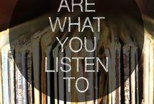 Musicians I like / All the beautiful music! / by Jennifer Mckenzie Cocco