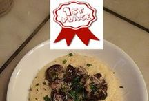 "Pinterest People's Choice / These are the five finalists from our Holiday Recipe Contest. Vote for the People's Choice winner by ""liking"" their photo. / by Aunt Judith"