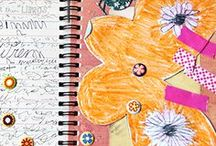 Art Journaling for Kids and Adults / art journals for kids, art journaling for kids, art journal ideas / by Melissa Taylor @ImaginationSoup